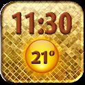 Luxury Clock Weather Widget icon