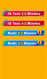 IQ Test -memory&logical puzzle Screenshot 2