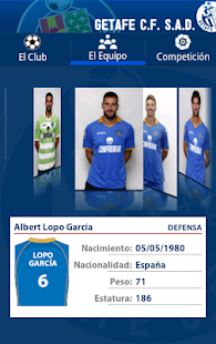 Getafe C.F. - screenshot thumbnail