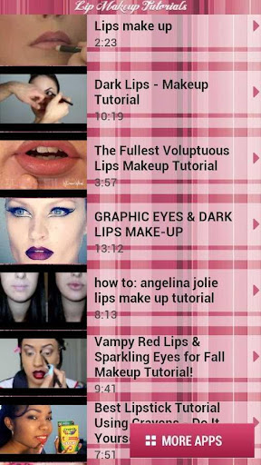 Beauty Makeup Tutorial Videos