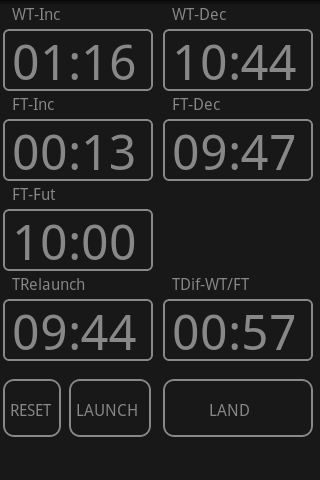 F3B timer- screenshot