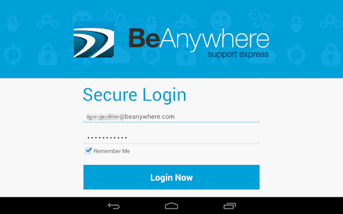 BeAnywhere Mobile Console - screenshot thumbnail