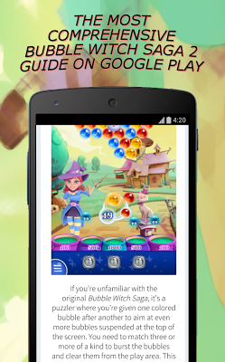 Guide for Bubble Witch Saga 2 - screenshot