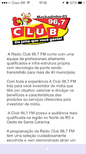 Club FM Machadinho- screenshot thumbnail
