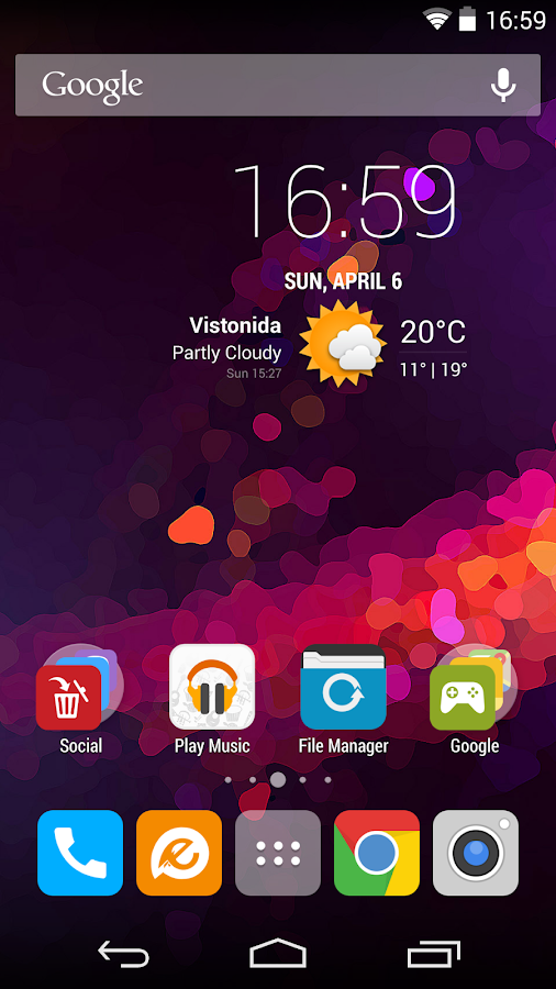 Morena - Flat Icon Pack - screenshot