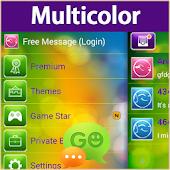 GO SMS Pro Multicolor