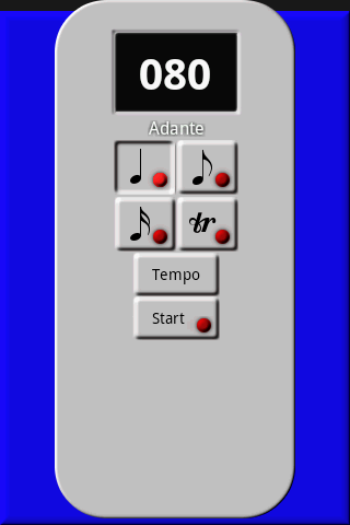 Ez Metronome (free)- screenshot
