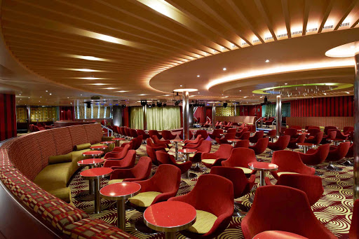 Carnival-Breeze-Limelight-Lounge - You are the star in the Limelight Lounge during your sailing on Carnival Breeze.
