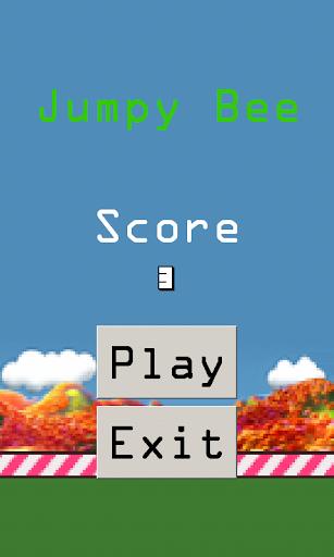 Jumpy Bee