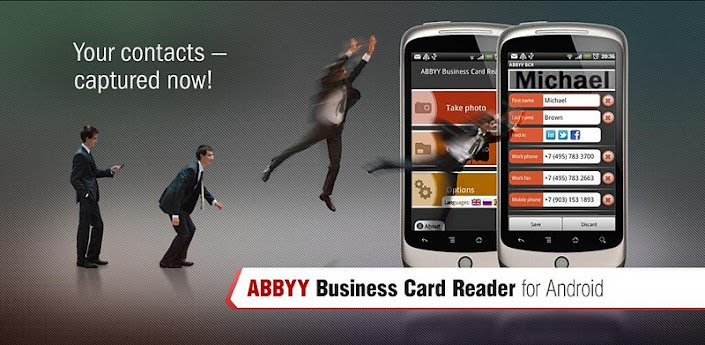 ABBYY Business Card Reader apk