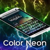 Keypad Color Neon