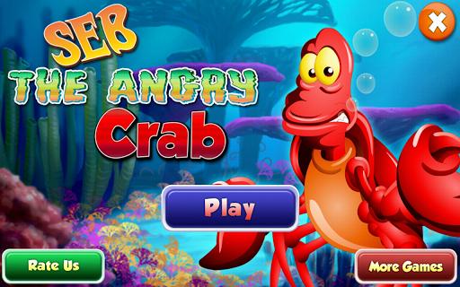 勒布笨拙的螃蟹生氣
