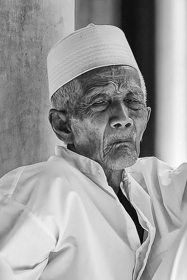 by Wisnu Budi Sunaryo - People Portraits of Men