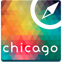 Chicago Offline Karte Führe icon