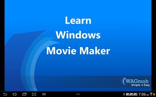 Learn Windows Movie Maker