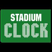 Stadium Clock Widget