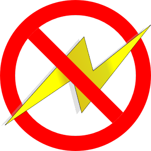 Image result for power outage symbol