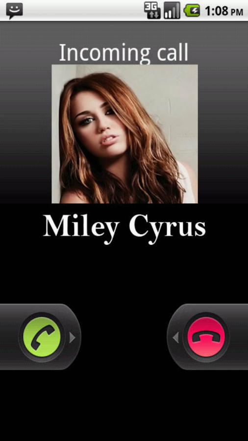 Miley Cyrus Prank Calls - screenshot