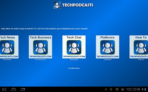 Tech Podcast Network @GoogleTV - screenshot thumbnail