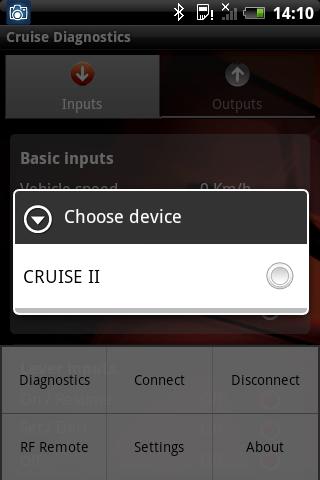 Cruise Diagnostics