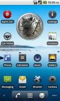 Screenshot of Cat 1 BritishBlue Analog Clock