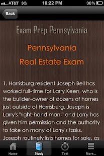 Pennsylvania Real Estate Exam- screenshot thumbnail