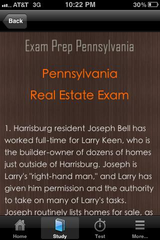 Pennsylvania Real Estate Exam- screenshot