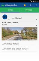 Screenshot of Milwaukee Bus