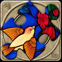 FlipPix Jigsaw - Stained Glass icon
