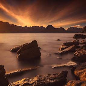 Elgol by Federica Violin - Landscapes Sunsets & Sunrises ( scotland, sunset, elgol, landscape, isle of skye )