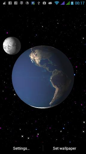 Earth Universe Live Wallpaper