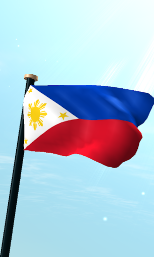 菲律賓旗3D免費動態桌布