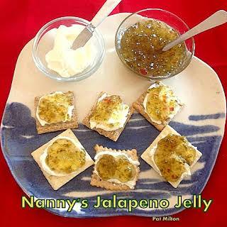 Nanny's Jalapeno Pepper Jelly.