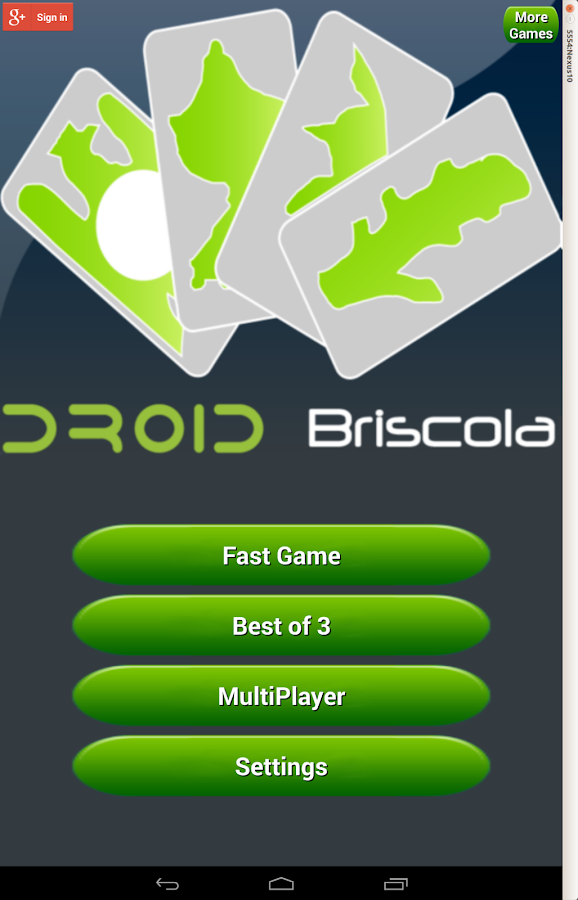 Briscola Free - screenshot