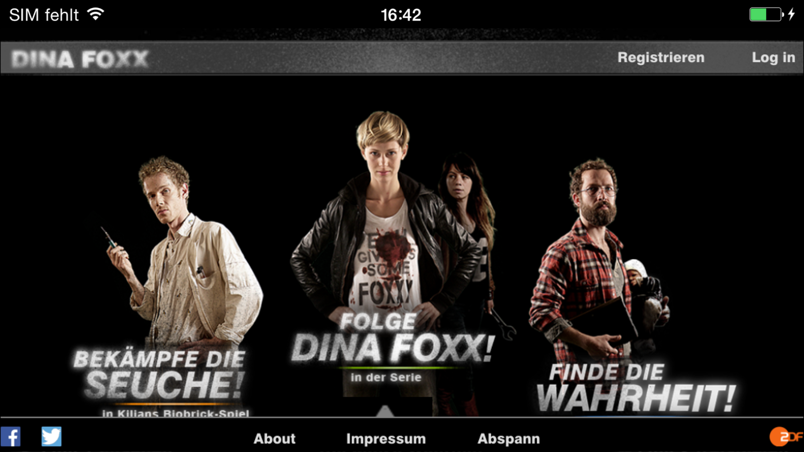 Dina Foxx- screenshot