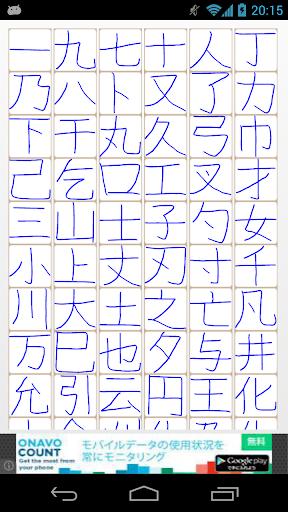 Bảng tổng duyệt chữ hán