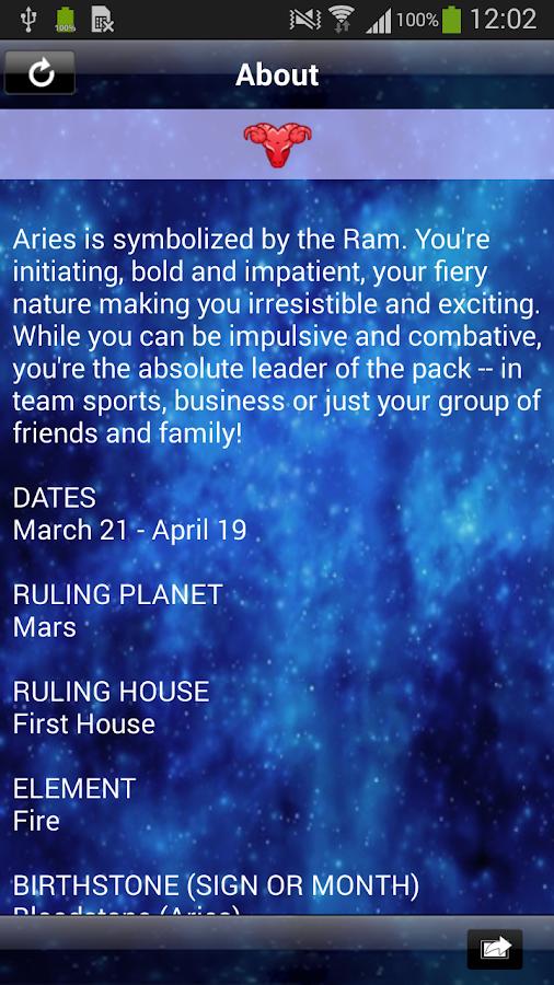 Horoscopes by Astrology.com - screenshot