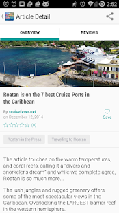 Roatan App- screenshot thumbnail