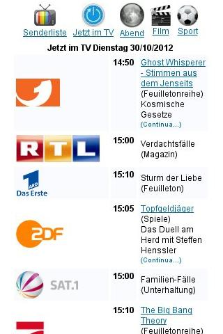 Tv Programm- screenshot