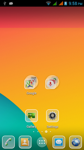 Kitkat Glass Icon Pack