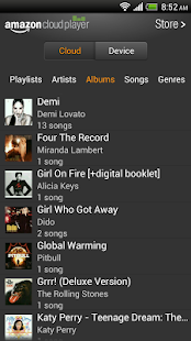 Amazon MP3 – play and download - screenshot thumbnail