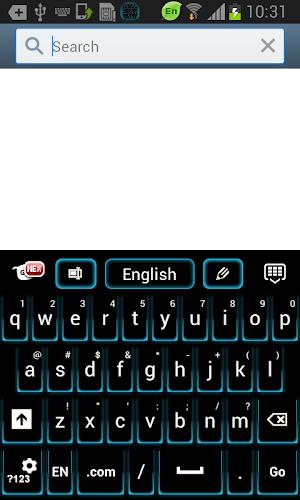 Fancy Neon Keyboard app screenshot