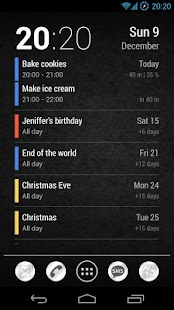 Neat Calendar Widget - screenshot thumbnail