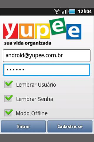 Yupee Mobile - screenshot