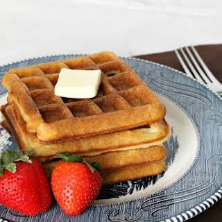 Classic Buttermilk Waffles.