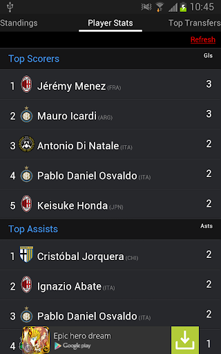 【免費運動App】Italy Football League Live-APP點子