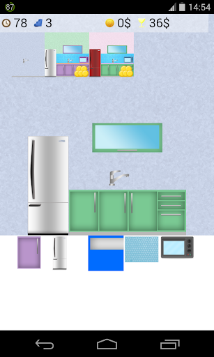 設計廚房遊戲