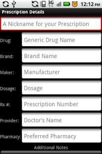 My Rx Info - screenshot thumbnail