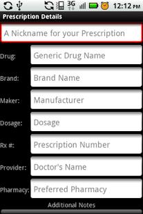 My Rx Info- screenshot thumbnail