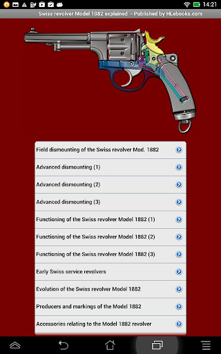 Swiss revolver Model 1882